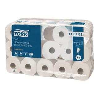 Toilettenpapier 3lagig Tissue hochweiß 250 Blatt f.Art.Nr.9000474220