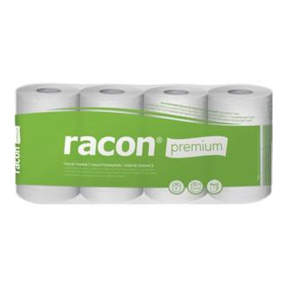 Toilettenpapier Racon Premium 3-lagig,Kleinrollen