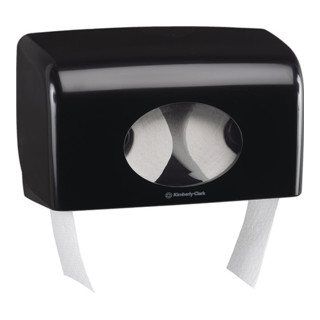 Toilettenpapierdoppelspender AQUARIUS 7191 H180xB298xT130ca.mm 1 Spender