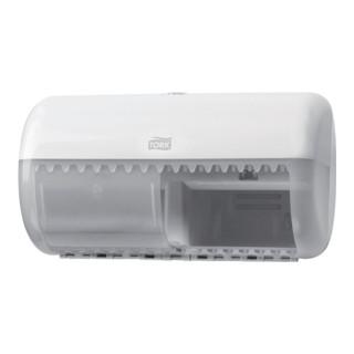 Toilettenpapierspender Tork abschließbar H158xB286xT153mm weiß