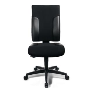Topstar Bürodrehstuhl schwarz/schwarz Sitz-H.420-540mm ohne Armlehnen