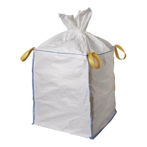 Transportsack Big Bag L.900mm B.900mm H.1100mm Trgf.1000kg Aufdruck:o.