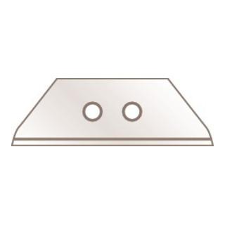 Trapezklinge 60099 Maße L.55,5 B.19,0 S.0,63mm 10 Stück/Spender Martor
