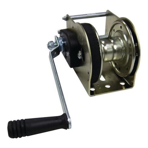 Treuil à câble force de traction 750 kg D. corde 5 mm Logement de la corde 12 m