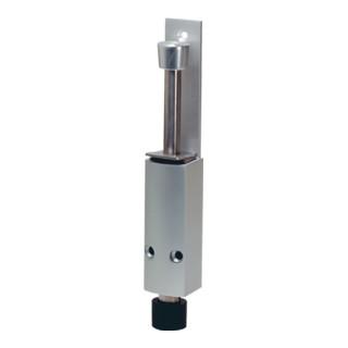 Türfeststeller 1222.02 LM. silberf.lack. Hubh. 60mm Türmontage