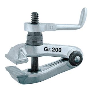Turnus Maschinen-Feilkloben 200 mm