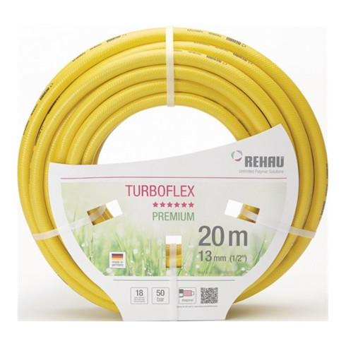 Tuyau d'arrosage p. jardin Turboflex L. 25 m D. int. 19 mm Rouleau