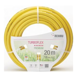 Tuyau d'arrosage p. jardin Turboflex L. 50 m D. int. 13 mm Rouleau