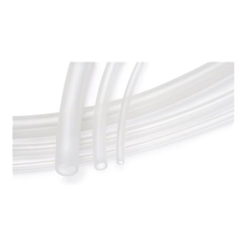 Tuyau en silicone Raulab FG Slidetec D. int. 6 mm L. 25 m transparent épaisseur