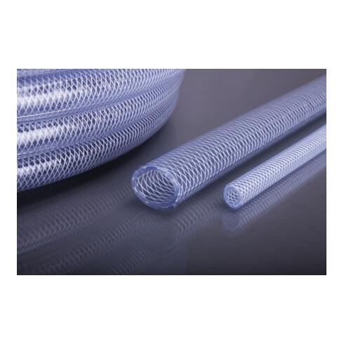 Tuyau p. air comprimé en PVC APDatec 81 D. int. 13 mm L. 50 m transparent Roulea