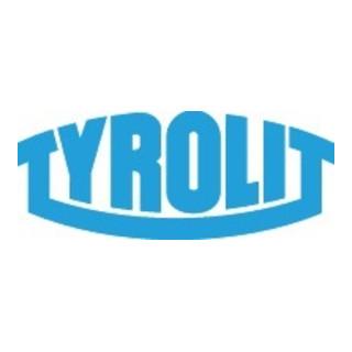 Tyrolit Schleiffeile 9040 L.100mm B.10mm halbrd.89A mittel