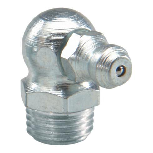 Umeta Kegelschmiernippel H3 DIN71412 6mm (R 1/4Zoll,1/4Zoll BSP) Form C BT