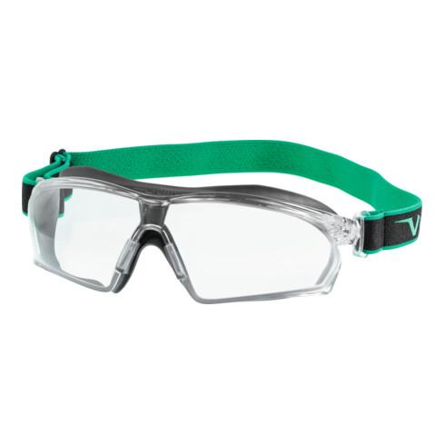 Univet Vollsicht-Schutzbrille 625, Scheibentönung: CLEAR