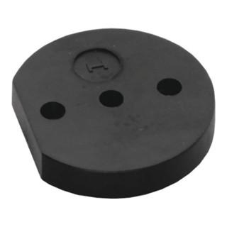 Unterlage Nyl.schwarz D.60mm H.10mm f.Art.3000 259 313 INTERSTEEL