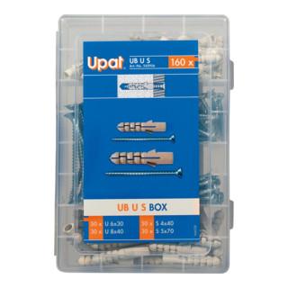 Upat Sortimentsbox Spreizdübel UB U S BOX