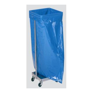 VAR Abfallsammler Typ SHR 120 verzinkt fahrbar für 120 l Säcke
