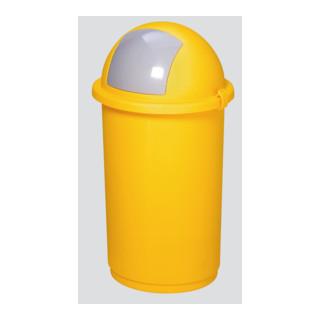 VAR Kunststoff-Abfallbehälter gelb 50 l