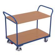 VARIOfit Tischwagen mit 2 Ladeflächen 500502