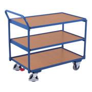 VARIOfit Tischwagen mit 3 Ladeflächen 500600
