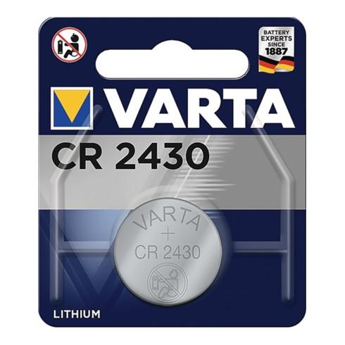 Varta Knopfzelle Professional Electronics 3 V 280 mAh CR2430 24,5x3,0mm