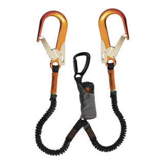 Verbindungsmittel Skysafe Pro Flex Y L.1,8m orange/schw. EN354:2010 EN355:2002
