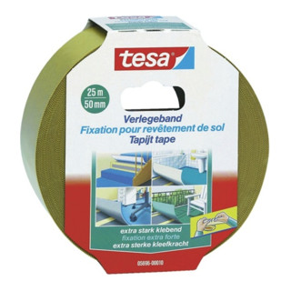 Tesa Verlegeband 5681 Länge Breite 50mm beidseitig klebend