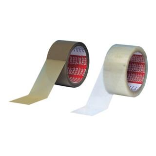 Verpackungsklebeband 4280 Länge 66m Breite 50mm transparent PP-Folie tesa