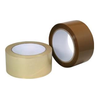 Verpackungsklebeband Länge 66m Breite 50mm braun PP-Folie Acrylatklebstoff