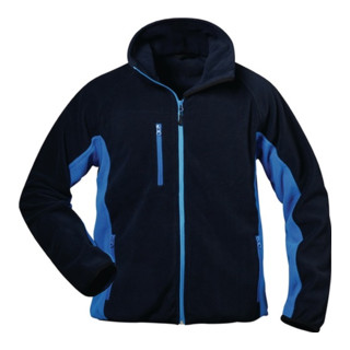 Veste polaire Bussard taille S bleu marine/bleu roi 100 % PES 1 un. CRAFTLAND