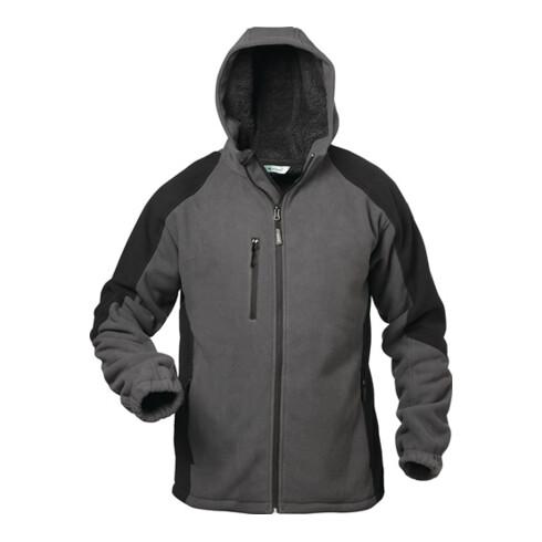 Veste polaire Tampere taille XL gris/noir 100 % PES 1 un. ELYSEE