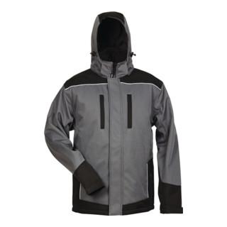 Veste softsclair d'hiver Ajax taille L gris/noir 100 % PES FELDTMANN