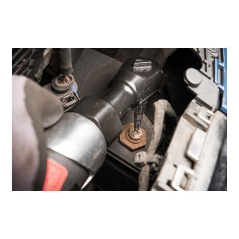 VIGOR Außenvierkant Antrieb 6,3 = 1/4 Zoll Luftratsche V5674 ∙ Vierkant massiv 6,3 mm (1/4 Zoll) ∙ Gesamtlänge: 236 mm