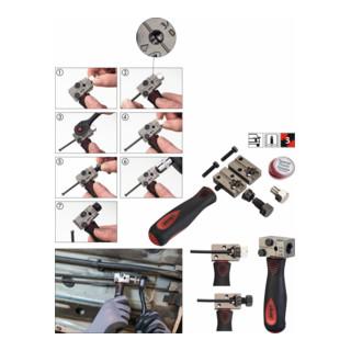 VIGOR Bördelgerät für ∅4,75mm  V4416 ∙ Anzahl Werkzeuge: 3