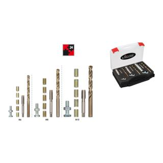 VIGOR Gewinde-Reparatur-Satz  V3864 ∙ Anzahl Werkzeuge: 24