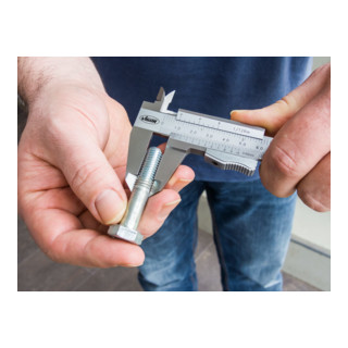 VIGOR Messschieber, mechanisch V4690 Gesamtlänge: 235 mm