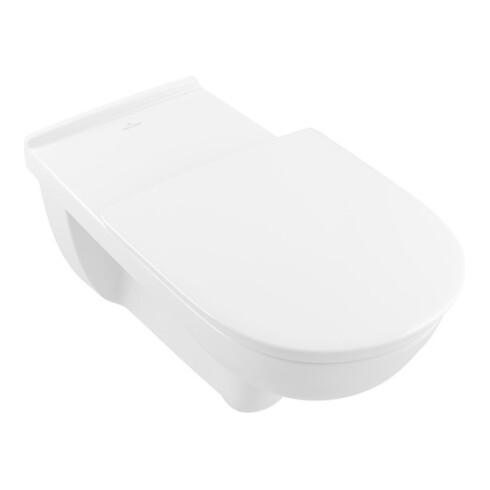 Villeroy & Boch Wand-WC Vita O.NOVO tief, 360 x 700 mm, spülrandlos, DirectFlush weiß