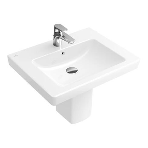 Villeroy & Boch Waschtisch SUBWAY 2.0 650 x 470 mm, mit Überlauf weiß