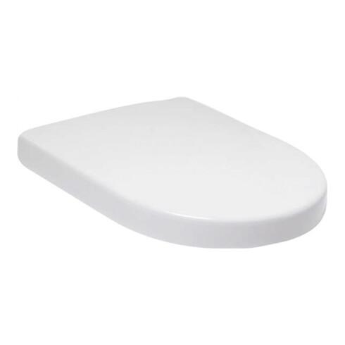 Villeroy & Boch WC-Sitz SUBWAY 2.0 Scharniere verchromt weiß