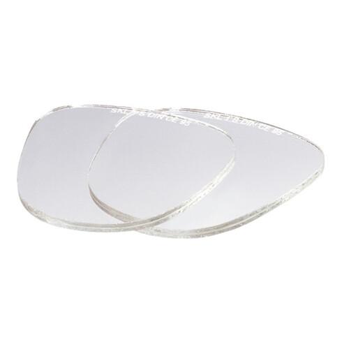 Visières de rechange verre clair sans éclats adapté à 40 00 370 014, 40 00 370 1