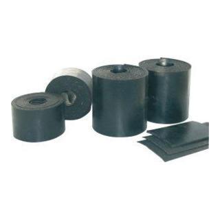 Vollgummimatte schwarz 200x200x9,53mm VE 4 Stück