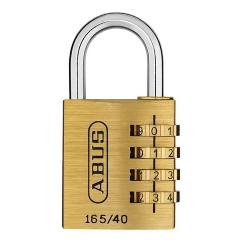 Vorhangschloss 165/40 4-stell. Code ABUS