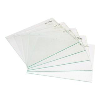 Vorsatzglas 90x110mm farblos f. Schweißerschutzschild