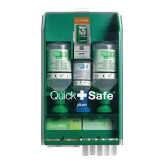 Wandbox QuickSafe Industry gefüllt Lief. m. Befestigungsmaterial PLUM