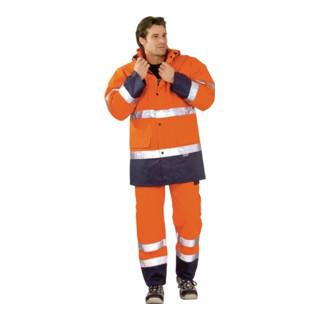 Warnschutzparka EN471/343 orange/marine