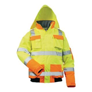Warnschutzpoloshirt Gr.m Orange 100% Polyester En471 Sonstige
