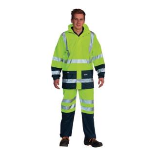 Ocean Warnschutz-Regenhose Comfort Stretch high-vis gelb/marine
