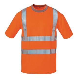 Warnschutz T-Shirt Pepe Gr. XXL orange 80% PES/20% CO ELYSEE