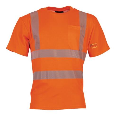 Warnschutz-T-Shirt Prevent® Trendline Gr.L leuchtorange PREVENT TRENDLINE