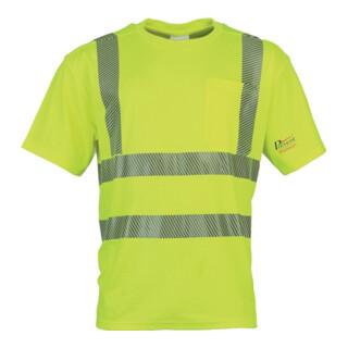 Warnschutz-T-Shirt Prevent® Trendline neongelb PREVENT TRENDLINE