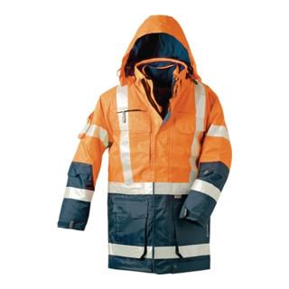 Warnschutzparka 4in1 orange/marine Gr.L EN471